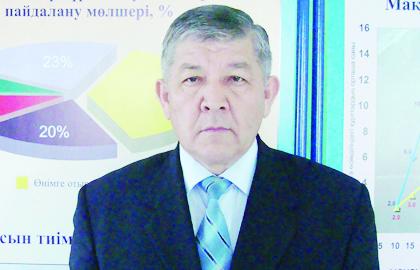 Мақта шаруашылығы ғылыми-зерттеу институтының директоры Ибадулла ҮМБЕТАЕВ:
