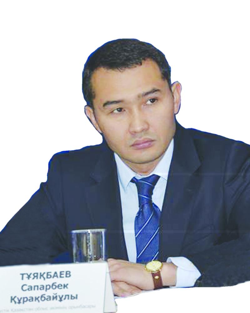 Сапарбек Тұяқбаев, ОҚО әкімінің орынбасары: