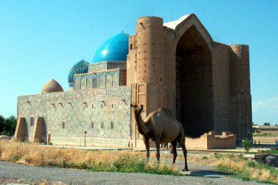 Жылына 1 миллионнан астам турист келетін Түркістан қаласы
